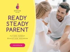 Parenting Courses with Happy Pregnant Woman
