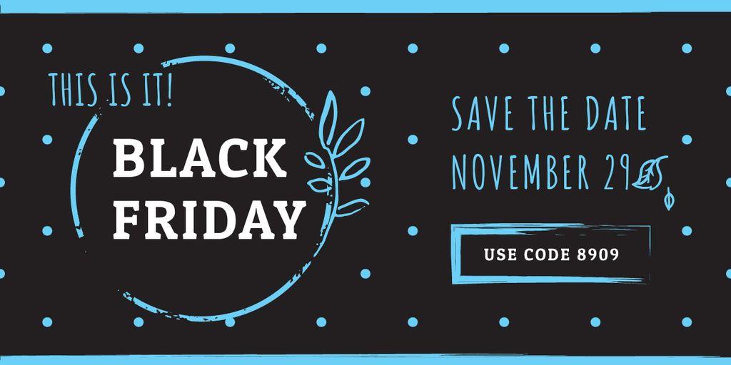 black Friday poster — Créer un visuel