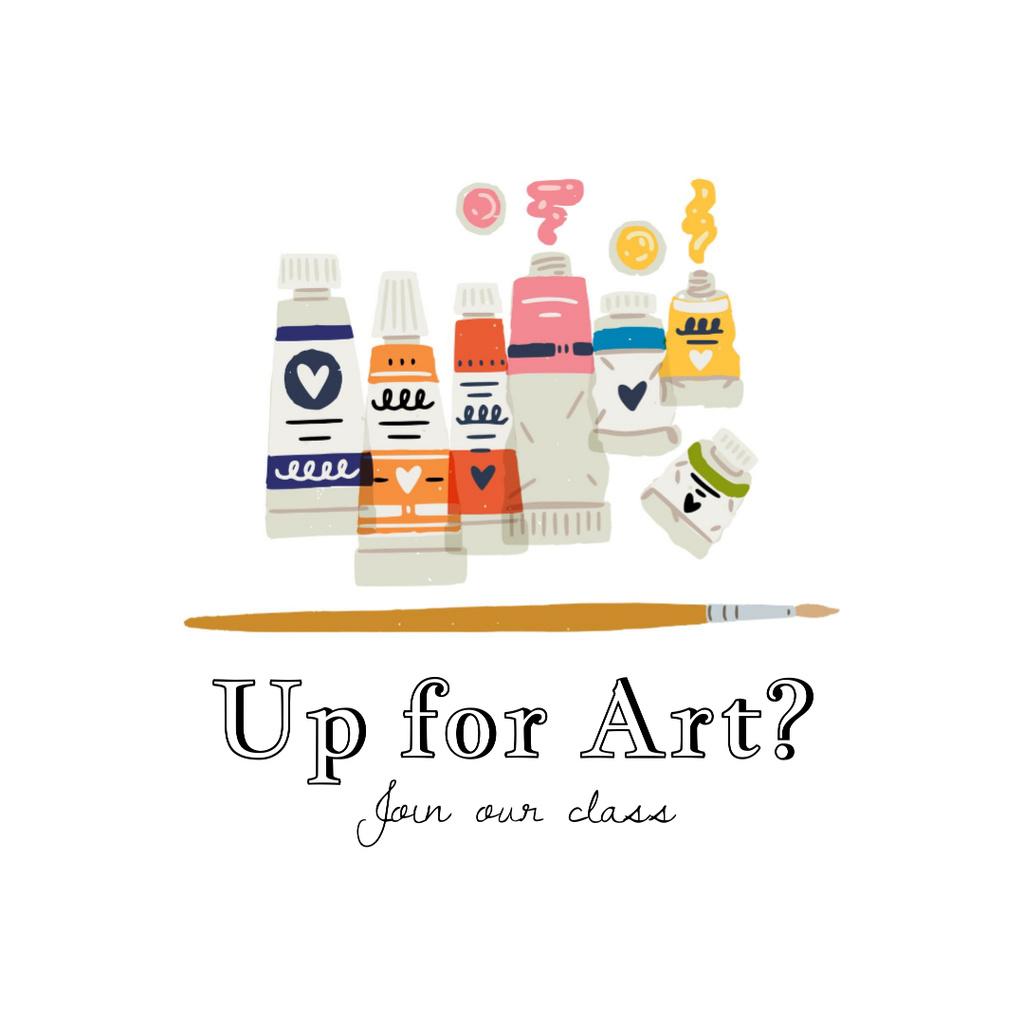 Art Classes promotion — Crear un diseño