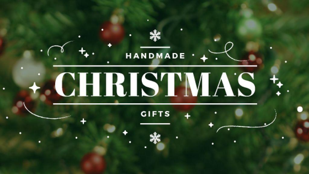 Christmas Gifts Ideas Decorated Tree — ein Design erstellen