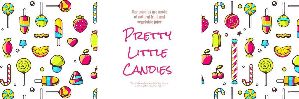 Pretty little candies banner — Maak een ontwerp