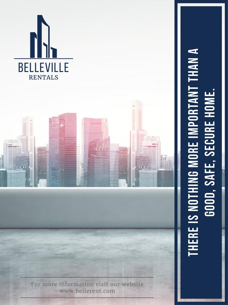 Belleville rentals advertisement — Створити дизайн