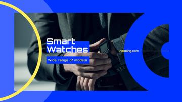 Man Wearing Smart Watch | Youtube Channel Art