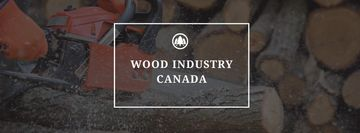 Wood industry Canada poster