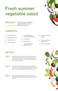 Fresh Summer Veggie Salad