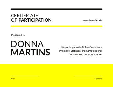 Science Conference Participation gratitude