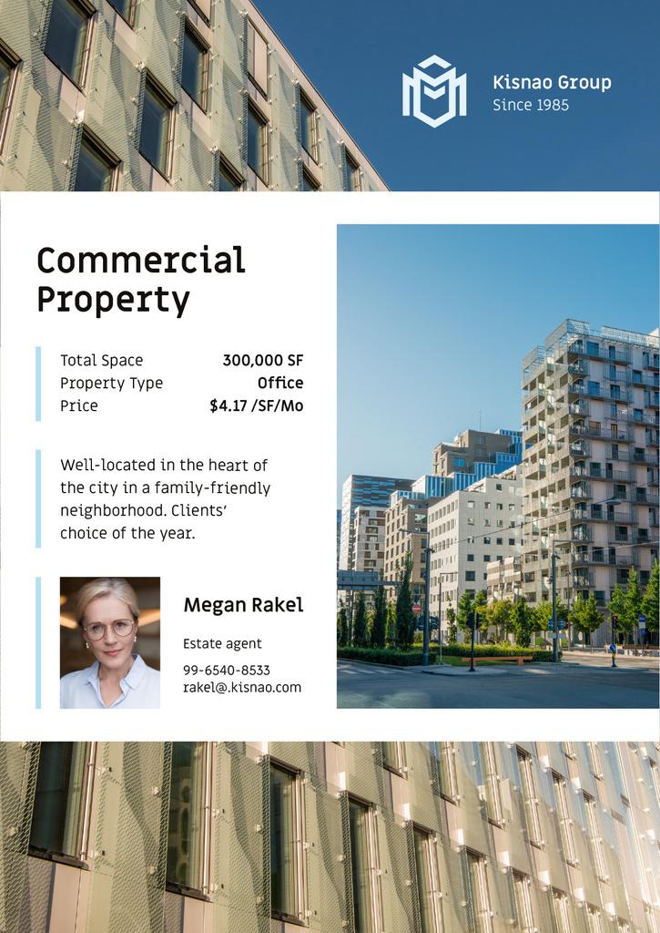 Real Estate Ad Modern House Facade — ein Design erstellen
