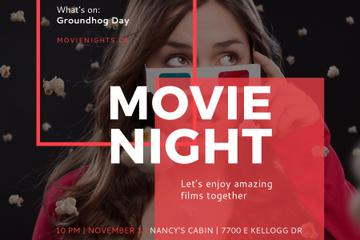 Movie night event