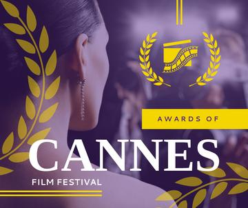 Woman at Cannes Film Festival