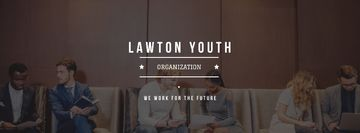 Youth organization services with young people