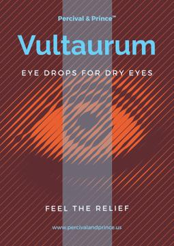 eye drops advertisement poster