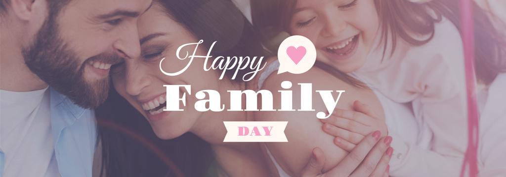 happy family day poster — ein Design erstellen