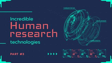 Research Technologies Guide Cyber Circles Mechanism Youtube Thumbnail – шаблон для дизайну