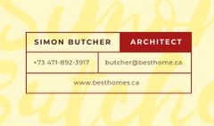 Architect Services Offer in Red