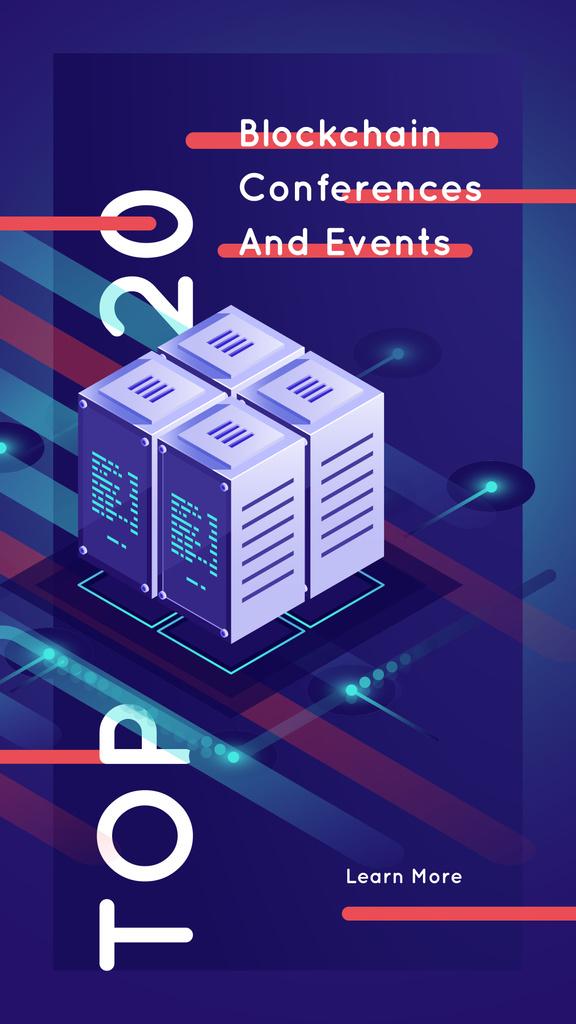 Stack of digital servers — Створити дизайн
