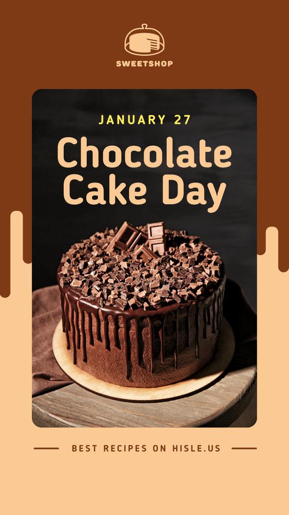 Chocolate cake day — Create a Design