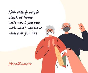 #ViralKindness Plea to help elderly people