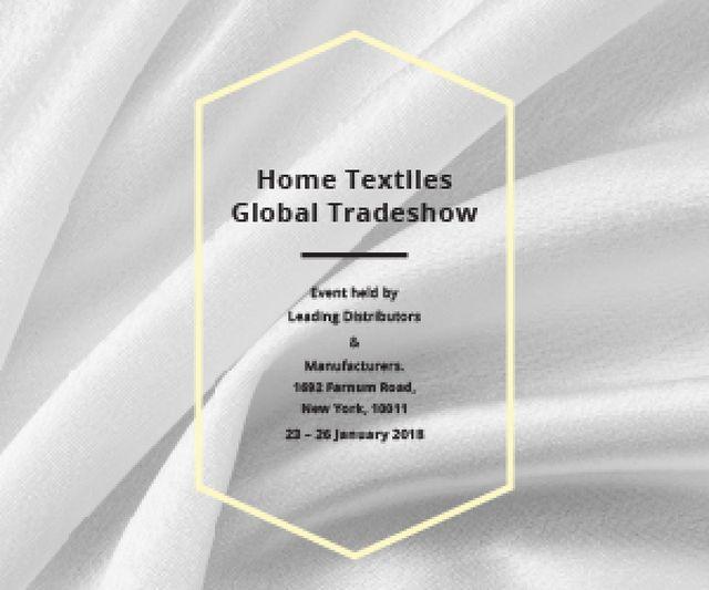 Home textiles global tradeshow Medium Rectangle – шаблон для дизайну
