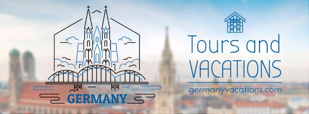 Germany famous travelling spots — Створити дизайн