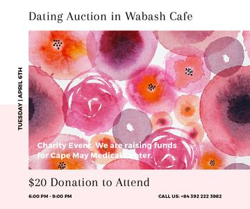 Dating Auction in Wabash Cafe