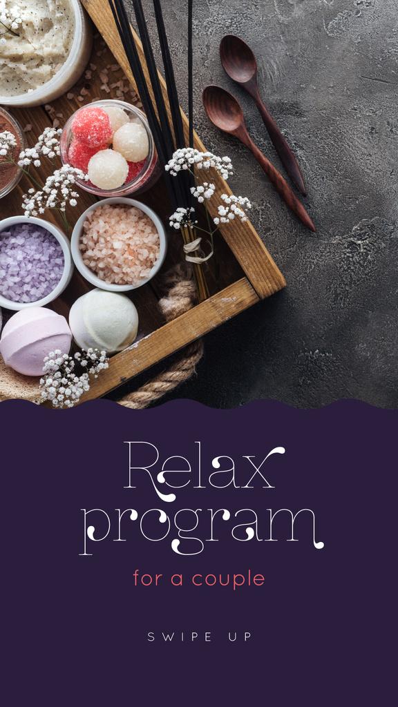 Relax Program for Couple Offer — Crear un diseño