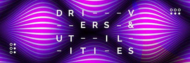 Plantilla de diseño de Wavelike digital surface Twitter
