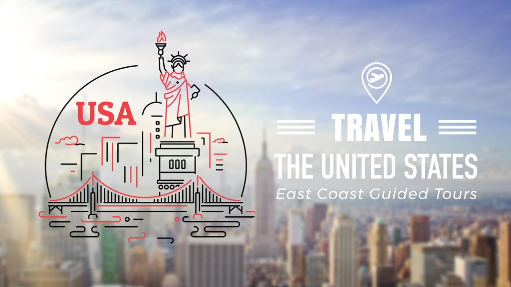 New York City Travelling Attractions | Full Hd Video Template — Crear un diseño