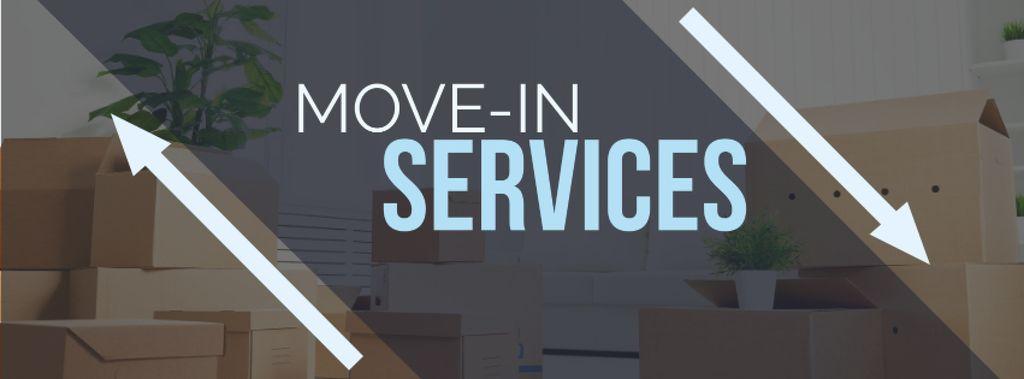 Move-in services with boxes — ein Design erstellen