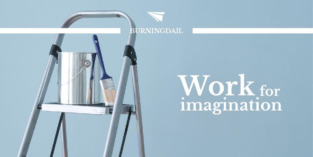 Work for imagination card — Crear un diseño