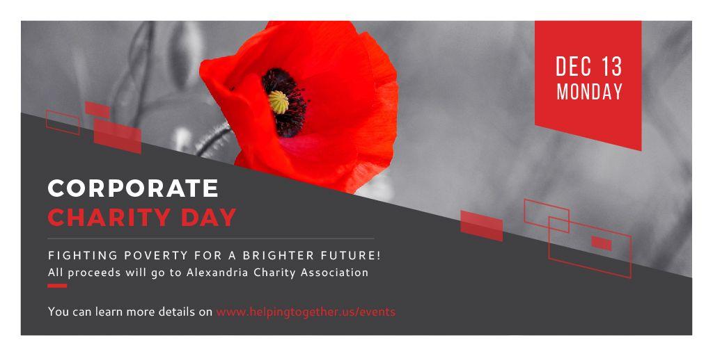 Corporate Charity Day Announcement — Создать дизайн