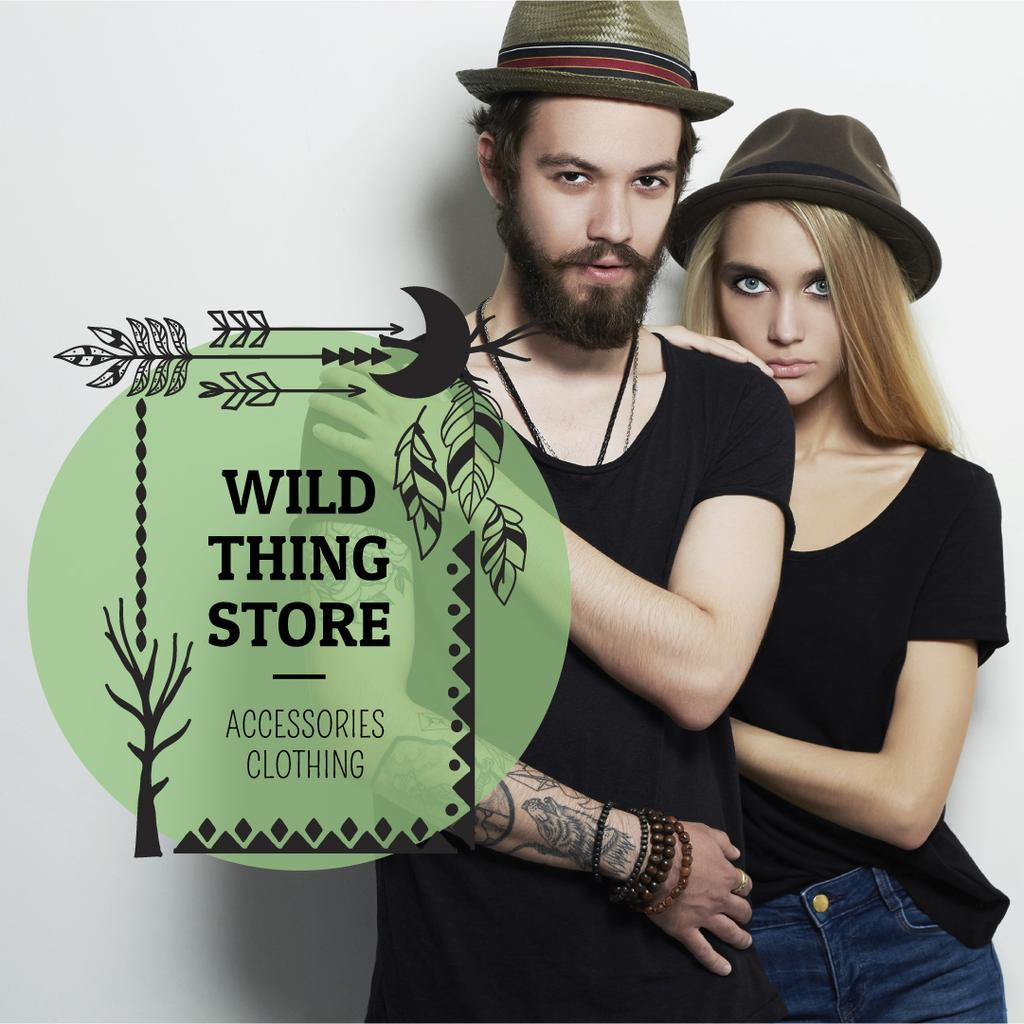 Wild thing store advertisement — Create a Design