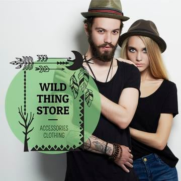 Wild thing store advertisement