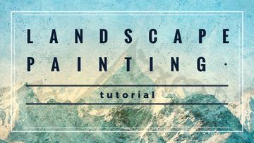 Scenic Mountains Landscape painting