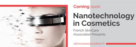 Futuristic Cosmetology technology Tumblrデザインテンプレート