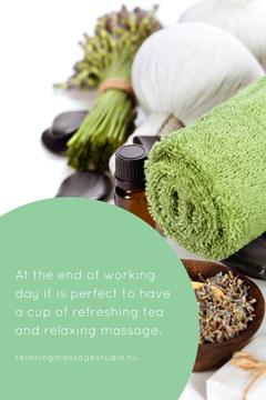 Relaxing massage studio Ad
