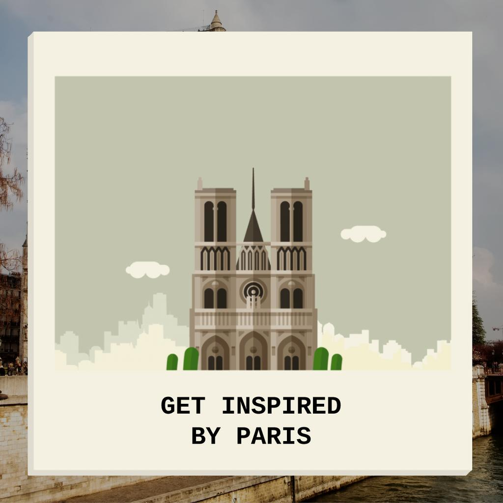 Get Inspired By Paris — ein Design erstellen