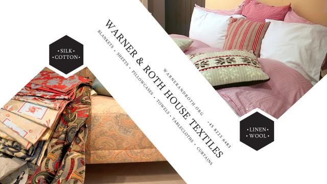 Modèle de visuel House Textiles Special Offer - Youtube