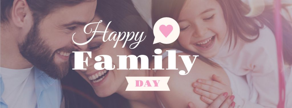 Happy Family day Greeting — Створити дизайн