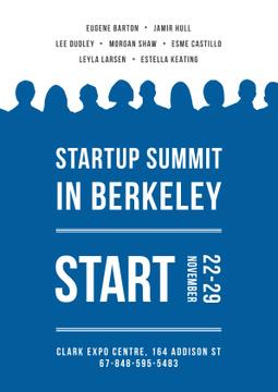 Startup summit Annoucement