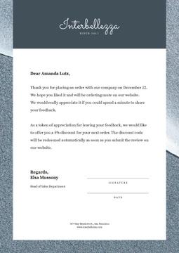 Business Company order gratitude