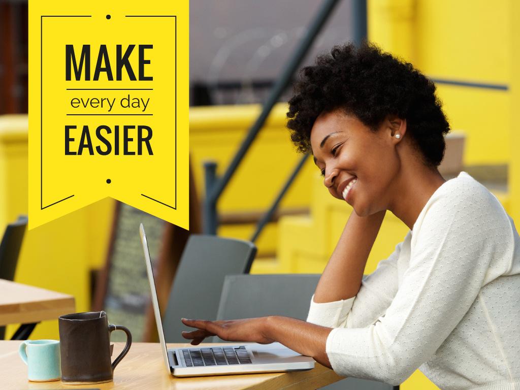 Make easier every day — Crear un diseño