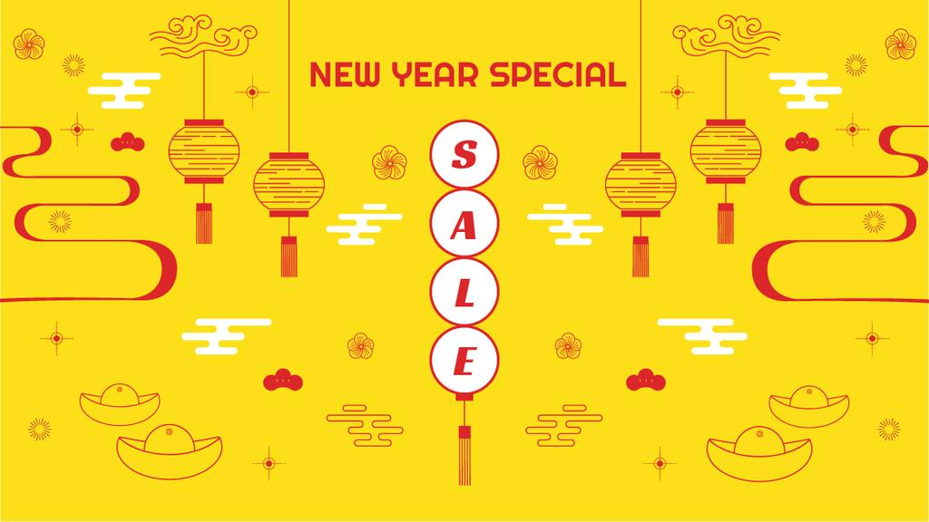 New Year Sale Chinese Style Attributes —デザインを作成する