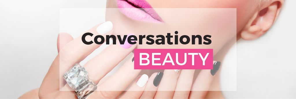 Beauty conversations website — Create a Design