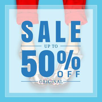Female Shoes Sale in blue