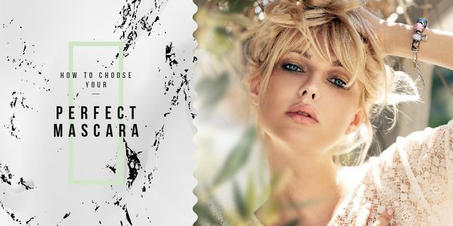 Young attractive woman Image Design Template