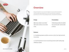 Computer on Minimalistic Workplace