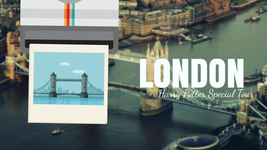 Tour Invitation with London Famous Travelling Spot Full Hd Video — Créer un visuel