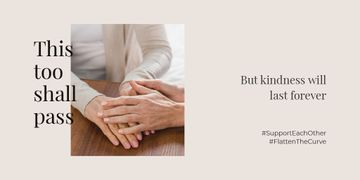 #SupportEachOther Citation about Kindness with old Women