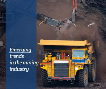 Emerging trends in the mining industry poster