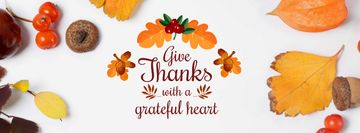 Thanksgiving day Bright Greeting
